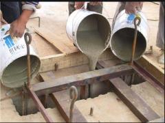 gao强无收缩guan浆料在桥liang作ye中的应用